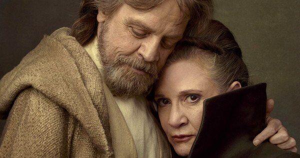 Luke and Leia - Star Wars