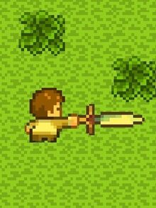 Player Using Sword