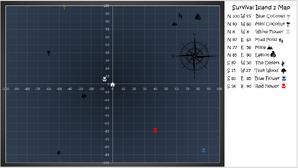 Survival Island 2 Map