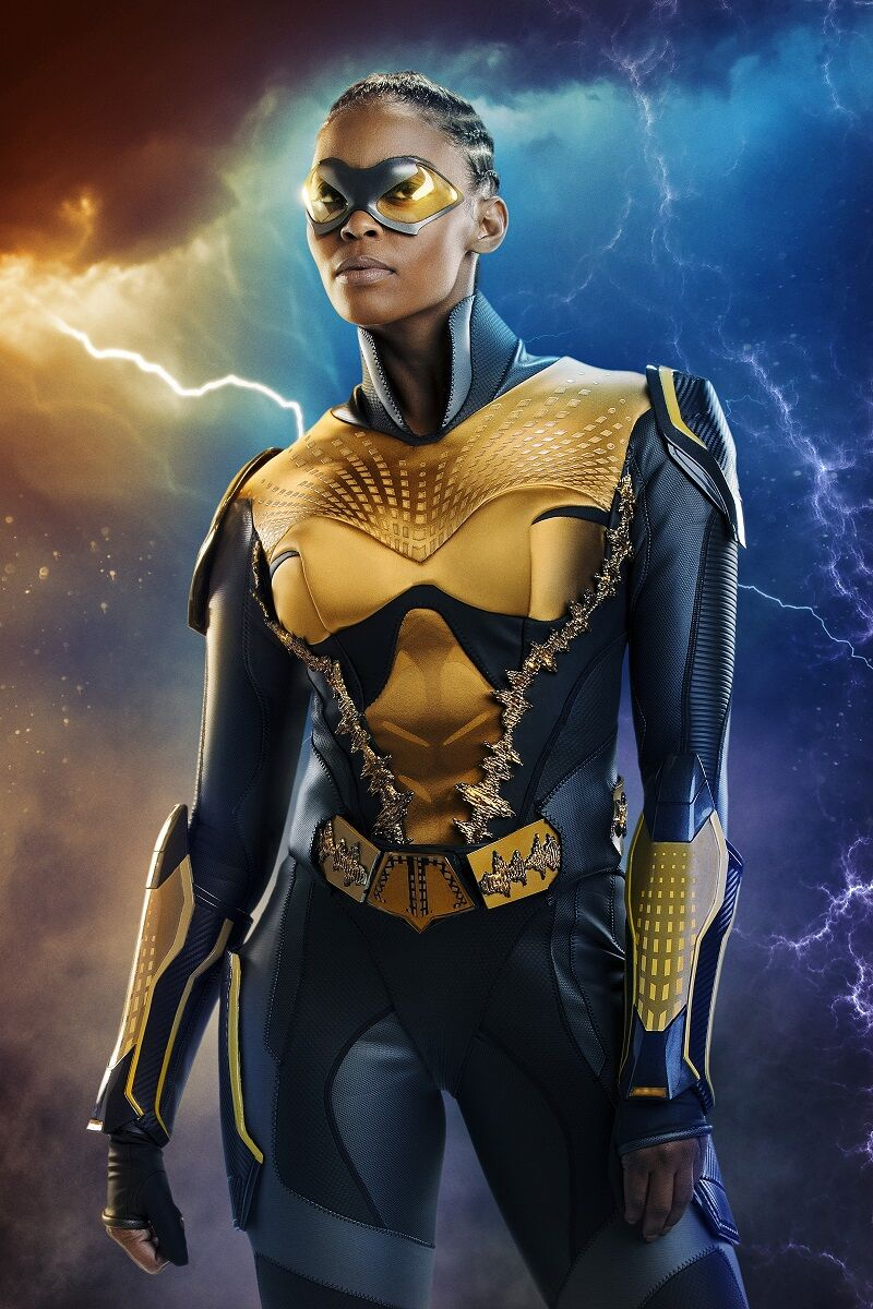 Black Lightning' Just Introduced TV's First Black, Female, LGBT Superhero