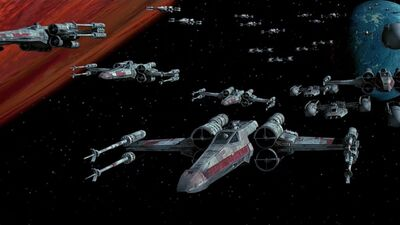 WWII Airplanes Influenced Star Wars Ship Designs
