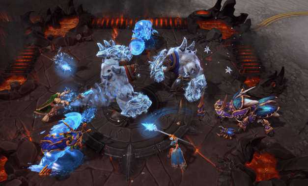 Heroes Brawl screenshot from Heroes of the Storm