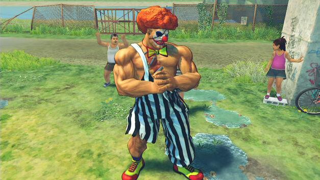SFIV Sagat Clown Costume