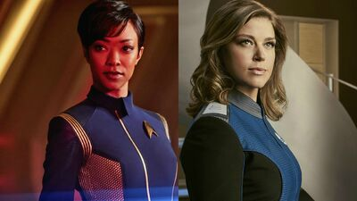 How 'The Orville' and 'Star Trek: Discovery' Are Doing Trek Differently