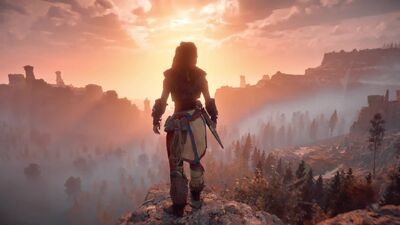 The 'Horizon Zero Dawn' Launch Trailer is Epic