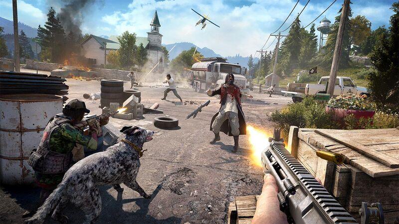 •  Release Date: March 27 (WW)  •  Developer: Ubisoft Montreal  •  Platform(s): PlayStation 4, Xbox One, PC  •  Genre: Action-Adventure FPS