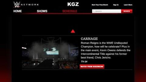Video - Monday Night Carnage (Episode 1)  WWE Carnage April