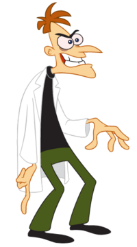 Heinz Doofenshmirtz 1st Dimension