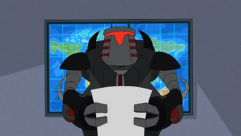 Normbot newscaster