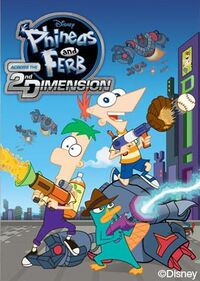 Phineas and Ferb Across the 2nd Dimension VG box art