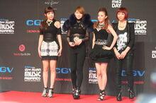 2NE1 in 2009