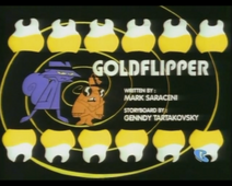 Goldflipper title card