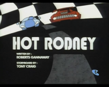 Hot Rodney title card