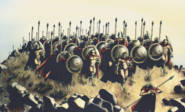 300 Soldiers from comics