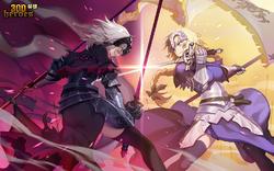 Jeanne d'Arc & Jeanne d'Arc (Alter)