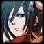 Icon Mikasa Ackerman