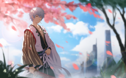 Sakura Sange Gintoki