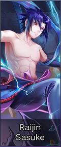 Cha044 Raijin Sasuke