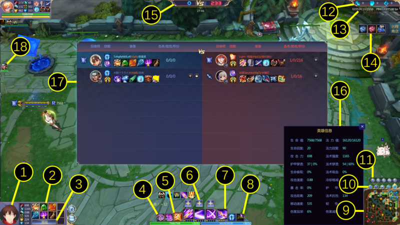 In-Game Interface
