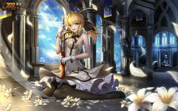 Pure White Knight Princess Artoria