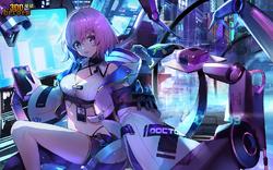 Cyberpunk Doctor Momo