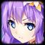 Icon Goddess of Fate Purple Heart