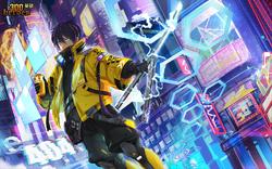 Cyberpunk Robinhood Yato