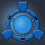 Icon Barrier Blue