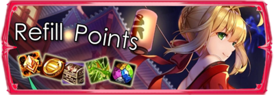 Refill Points
