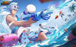 Beach Party Gintoki
