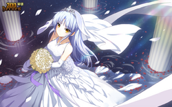 Wedding Dress Kanade (Censored Version)