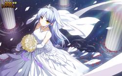 Wedding Dress Kanade (Censored Version)