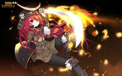 Ancient Warrior Shana (Censored Version)