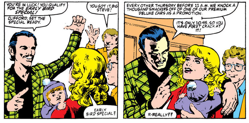 """""""I hope the next page is the contract they signed!"""" - Said nobody who ever read this comic ever."""