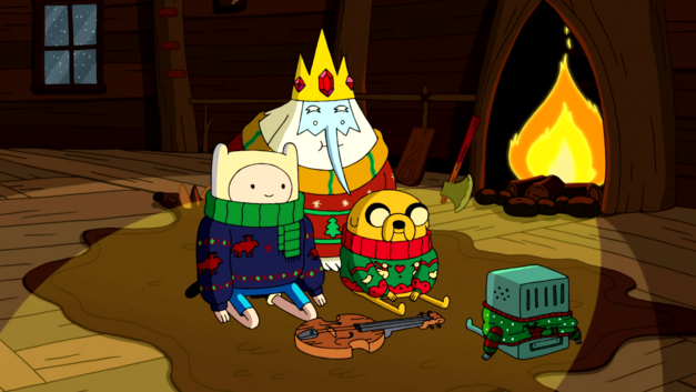 finn-jake-ice-king-bmo-christmas-sweater