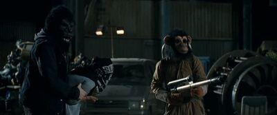 Ape travis flamethrower