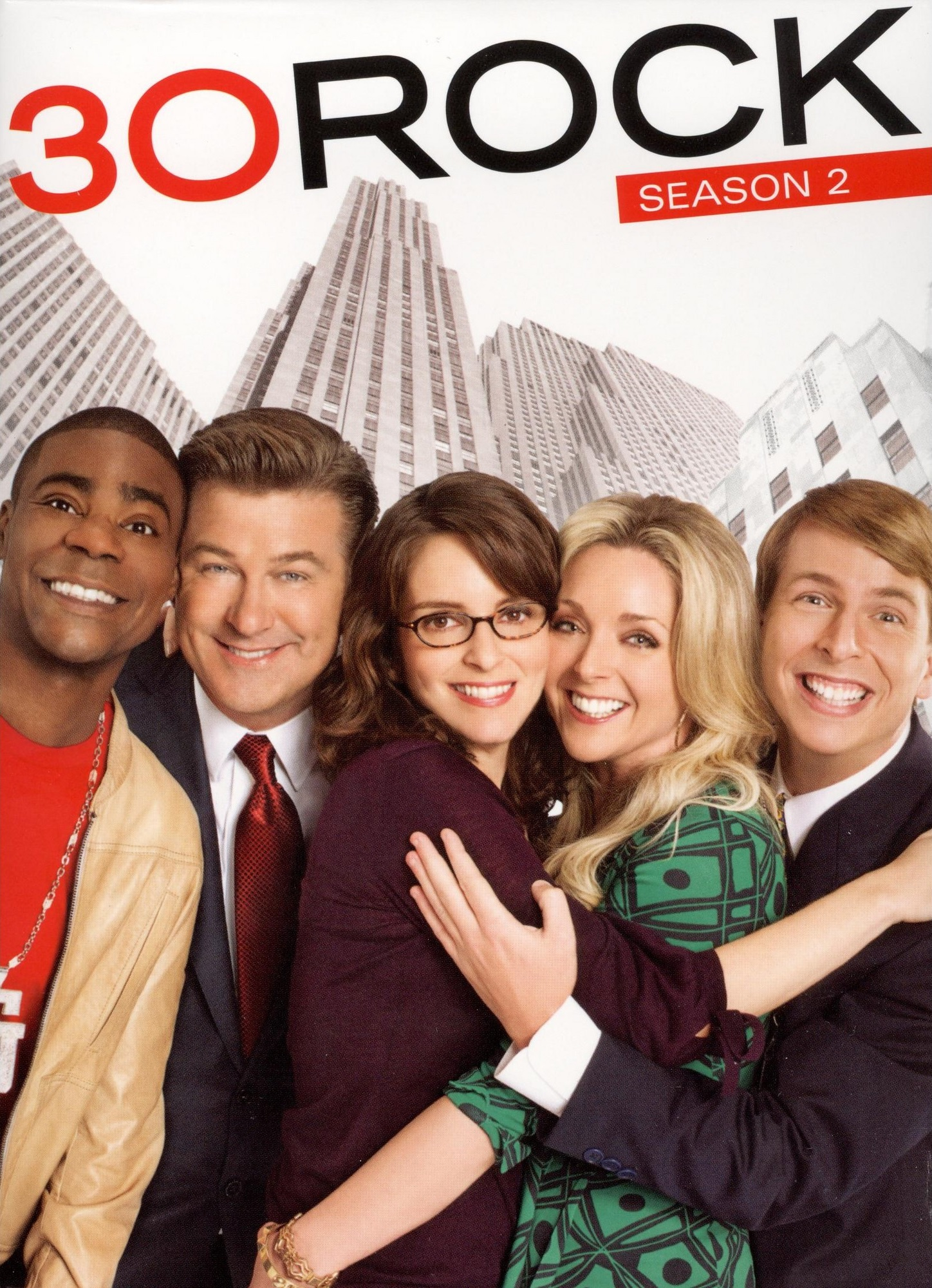 30 Rock Season Two DVD Cover