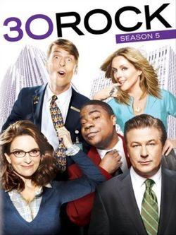 250px-30 Rock season 5 DVD cover