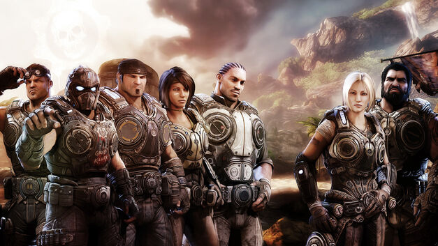 Gears of War characters have style
