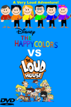 The Happy Colors VS The Loud House
