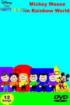 Mickey Mouse in Rainbow World