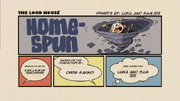 Homespun (Re-Written) Title Card