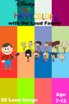 The Happy Colors with the Loud Family (Video)