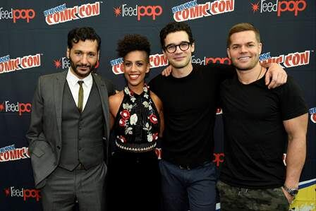 The cast of The Expanse at NYCC.