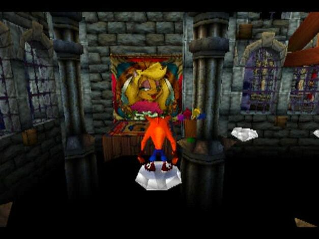 Crash Bandicoot Gem Path The Great Hall