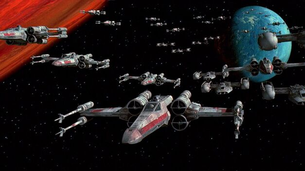 Star-Wars-Episode-IV-Special-Edition ships in space