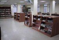 基隆市信義區圖書館閱覽區1
