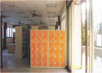 彰化縣社頭鄉立圖書館一樓置物櫃