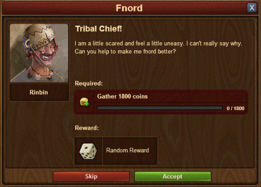 Forge of Empires request screenshot