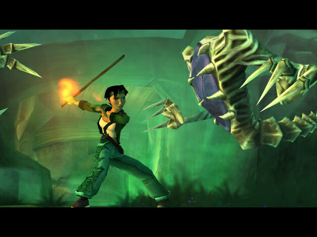 A screenshot of Beyond Good & Evil.